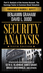 Security Analysis, Sixth Edition, Part V - Analysis of The Income Account. The Earnings Factor in Common-Stock Valuation