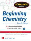 Schaums Outline Of Beginning Chemistry EBOOK