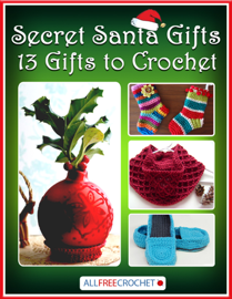Secret Santa Gifts: 13 Gifts to Crochet book