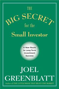 The Big Secret for the Small Investor Capa de livro