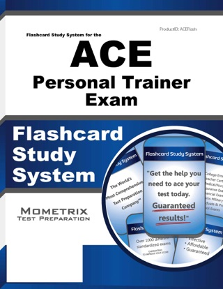 Flashcard Study System for the ACE Group Fitness Instructor Exam: on