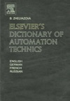 Elseviers  Dictionary Of Automation Technics