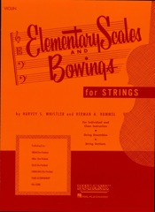 Elementary Scales and Bowings - Violin (Music Instruction)