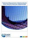 Thickness Measurement Of Semiconductor Films Using The NanoCalc Reflectometer