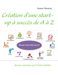 Création d'une start-up à succès de A à Z La couverture du livre martien