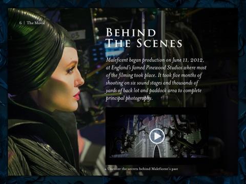 Maleficent The Official Multi Touch Book De Walt Disney