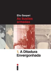 A ditadura envergonhada de Elio Gaspari Capa de livro