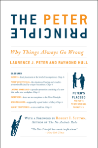 The Peter Principle Cover Book