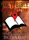 Holy Bible KJV Red Letter Edition With Encyclopedia And Dictionaries