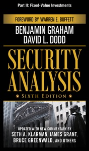 Security Analysis, Sixth Edition, Part II - Fixed-Value Investments