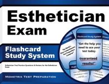 Esthetician Exam Flashcard Study System: