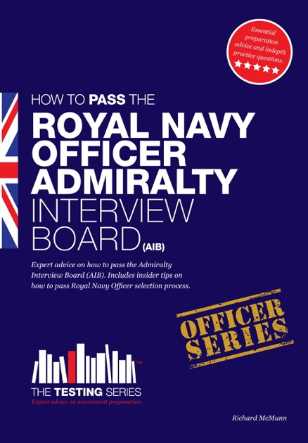 Royal navy officer admiralty interview board by Richard McMunn on Apple  Books