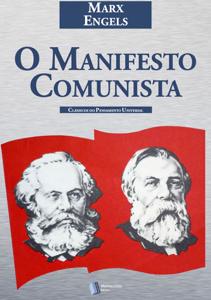O Manifesto Comunista Capa de livro