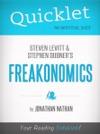 Quicklet On Freakonomics By Stephen D Levitt  Stephan J Dubner
