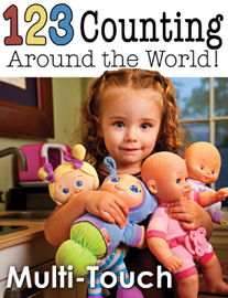 123 Counting Around the World book