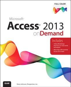 Access 2013 on Demand da Steve Johnson
