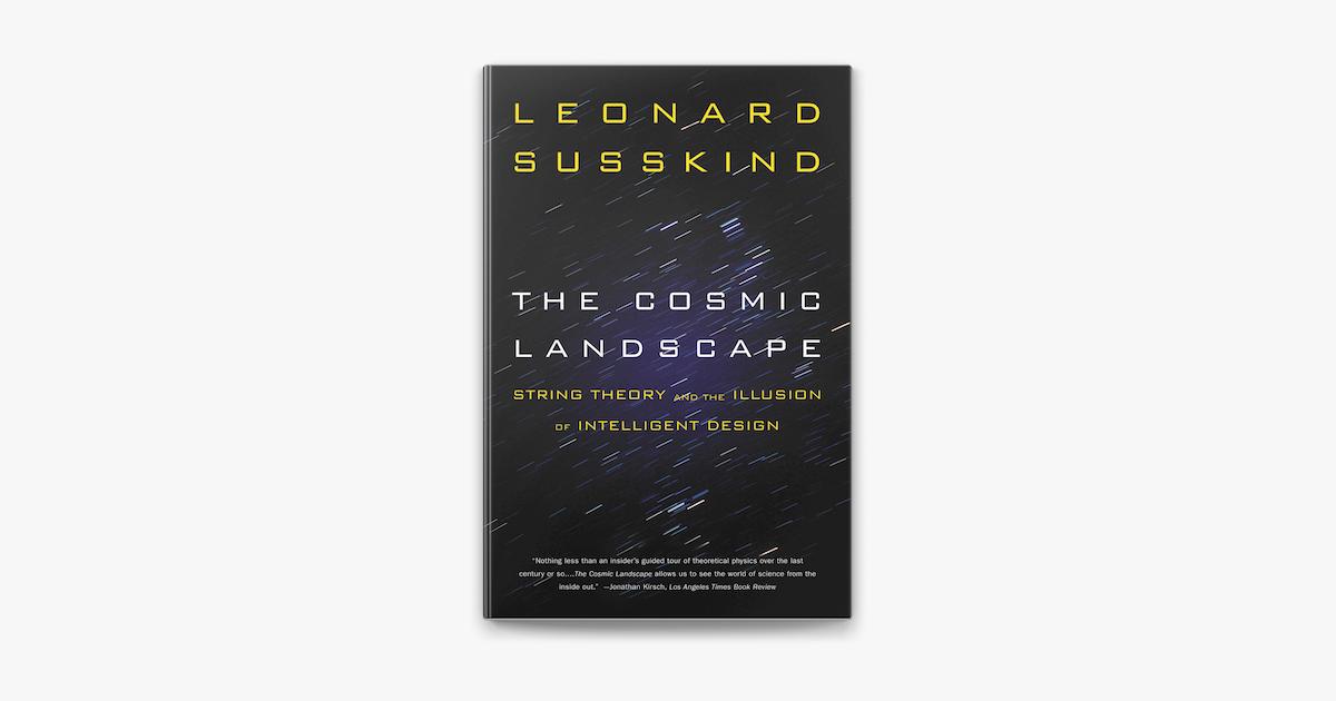 The Cosmic Landscape On Apple Books