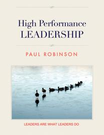 High Performance Leadership