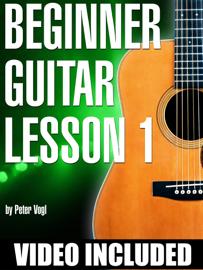 Beginner Guitar Lesson 1 book