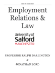 Employment Relations & Law