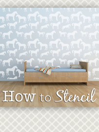 How to Stencil Instructions by Cute Stencils book