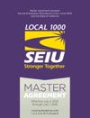 Master Agreement Between Service Employees International Union Local 1000 And The State Of California