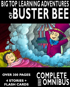 Complete Big Top Learning Adventures of Buster Bee