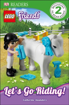 DK Readers L2: LEGO Friends: Let's Go Riding! (Enhanced Edition)