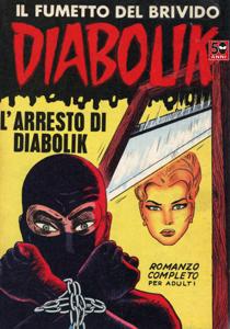 Diabolik #3 Copertina del libro