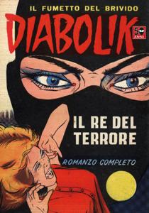 Diabolik #1 Libro Cover