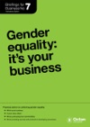 Gender Equality Its Your Business