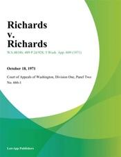 Download and Read Online Richards v. Richards