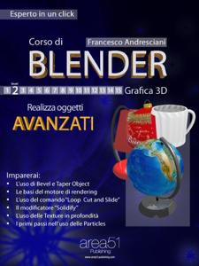 Corso di Blender – Livello 3 Copertina del libro