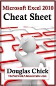 Microsoft Excel 2010 Cheat Sheet