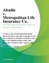 Abadie V Metropolitan Life Insurance Co