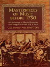 Masterpieces Of Music Before 1750
