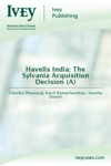 Havells India The Sylvania Acquisition Decision A