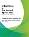 Villagomez V Rockwood Specialties