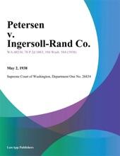 Petersen v. Ingersoll-Rand Co.