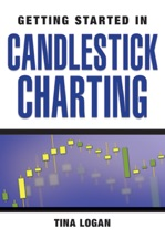 Getting started in candlestick charting by tina logan, paperback.