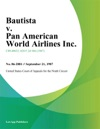 Bautista V Pan American World Airlines Inc