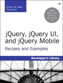 Jquery Jquery Ui And Jquery Mobile Recipes And Examples