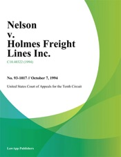 Download and Read Online Nelson v. Holmes Freight Lines Inc.