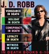 JD Robb The IN DEATH Collection Books 6-10