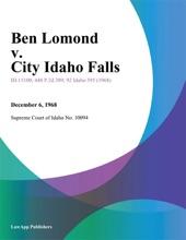 Ben Lomond V. City Idaho Falls