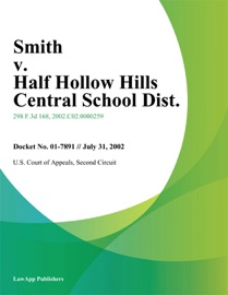 Smith V Half Hollow Hills Central School Dist