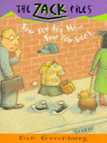 Dan Greenburg & Jack E. Davis - The Zack Files 12: Now You See Me...Now You Don't