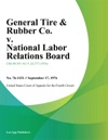 General Tire  Rubber Co V National Labor Relations Board