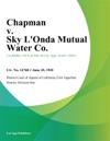 Chapman V Sky Londa Mutual Water Co