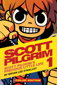 Scott Pilgrim Color Volume 1 Book Cover